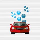 Car wash design. Illustration eps10 graphic Stock Image