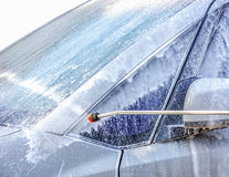 Car wash. With foam business concept Royalty Free Stock Image