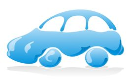 Car wash icon Royalty Free Stock Photo