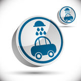 Car wash icon. Stock Images