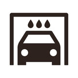 Car wash icon Royalty Free Stock Images