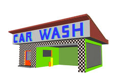 Car wash Stock Image