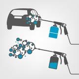 Car wash image Stock Photo