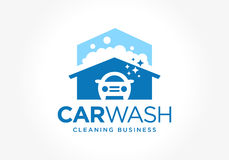 Car wash logo design vector illustration
