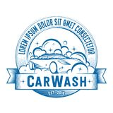Car Wash logo. Vector and illustration. Car Wash logo. Car Wash t-shirt and apparel design, typography, print, logo, poster. Vector and illustration vector illustration