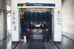 Car wash Royalty Free Stock Photo