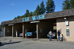 Car wash service Royalty Free Stock Photos