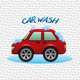 Car wash service design. Car wash design,  illustration eps10 graphic Royalty Free Stock Photography