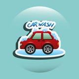 Car wash service design. Car wash design,  illustration eps10 graphic Royalty Free Stock Images