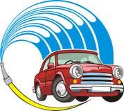 Car wash sign royalty free illustration