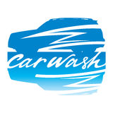 Car Wash sign. Car Wash clean clear service automobile sign vehicle Royalty Free Stock Image