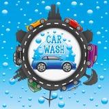 Car wash sign. Stock Image