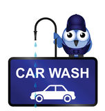 Car Wash Sign Royalty Free Stock Photography