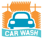 Car wash sign Stock Photos