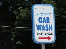 Car wash Sign Royalty Free Stock Photo