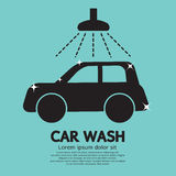 Car Wash. Sign Vector Illustration stock illustration