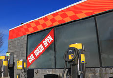Car Wash Site Stock Images