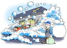 Car wash soap Royalty Free Stock Photo