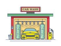 Car wash station Royalty Free Stock Photo