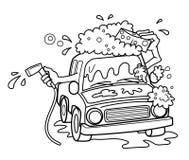 Cartoon Car Wash Stock Illustrations 823 Cartoon Car Wash Stock