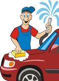Car washer Royalty Free Stock Photography