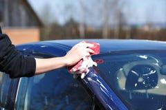 Car washing Royalty Free Stock Photo