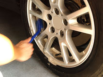 Car washing. Car care, service Royalty Free Stock Photography