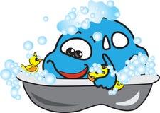 Car washing. Car washing concept. Vector illustration Royalty Free Stock Image