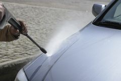 Car Washing Royalty Free Stock Photography