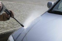 Car Washing Royalty Free Stock Photography