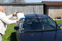 Car washing Stock Images