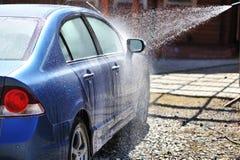 Car washing Royalty Free Stock Image