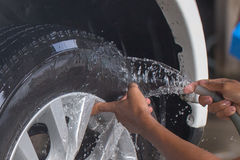 Car Washing Royalty Free Stock Photos