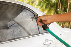 Car washing. Stock Images