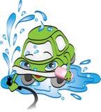Car washing concept. Vector illustration Royalty Free Stock Image