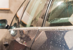 Car washing service Royalty Free Stock Photo