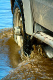 Car in water Royalty Free Stock Photography