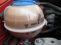 Car Water/Coolant Tank by Kambas Stock Photography