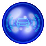 Car web button Royalty Free Stock Image