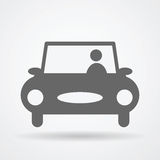 Car web icon Stock Photo