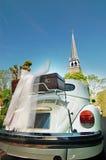 car wedding Στοκ Φωτογραφίες