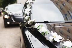 The car in wedding cortege Stock Photo