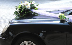 Car Wedding Decoration Royalty Free Stock Image
