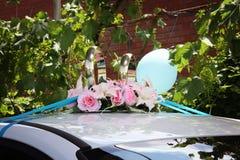 Car wedding decoration Stock Photos