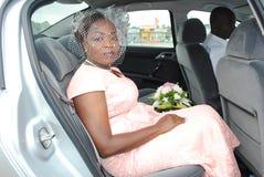 CAR WEDDING royalty free stock photos