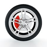 Car wheel Stock Image