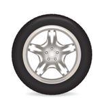 Car wheel. Stock Photography