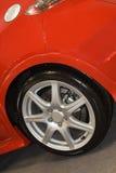 Car wheel. Close-up of car wheel Stock Photos