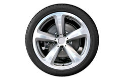 Car wheel Royalty Free Stock Image