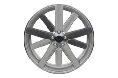 Car wheel, Car alloy rim on white stock images